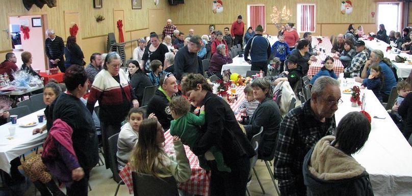 diner Soeur Thomas 2 janvier 2018 salle des Mooses a Valleyfield photo Emile_Duhamel