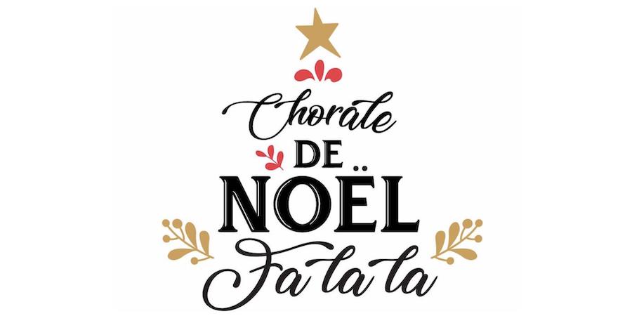 logo Chorale de Noel fa_la_la de Beauharnois realisation C_Levesque-Sauve