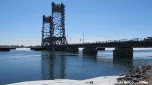 pont Saint-Louis-de-Gonzague hiver neige ciel bleu photo INFOSuroit