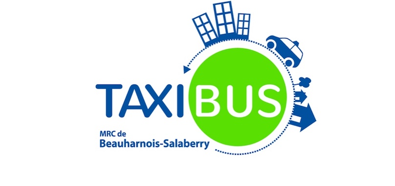 transport collectif logo Taxibus MRC Beauharnois-Salaberry
