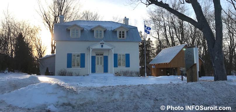 LaMez Maison Felix-Leclerc a Vaudreuil-Dorion hiver 2018 photo INFOSuroit
