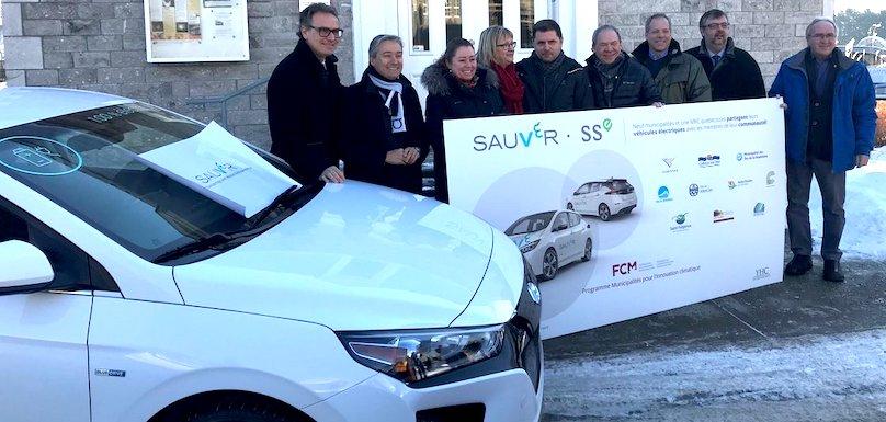 Projet SAUVeR 14jan2019 a Varennes ministre et elus des municipalites photo via YHC Environnement