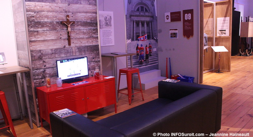 exposition Amen nous la coupe au MUSO musee a Valleyfield photo JHaienault INFOSuroit