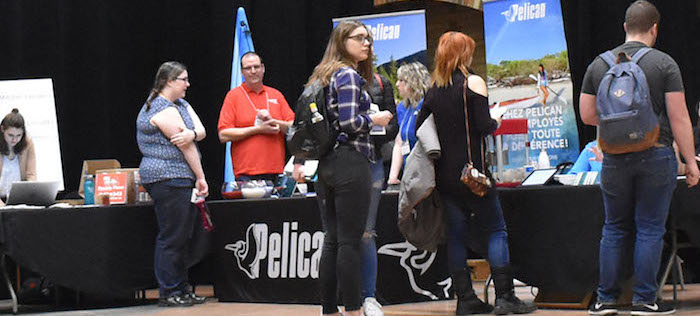 College-Valleyfield-Salon-Emploi-Jeunesse-2018-kiosque-Pelican-international-photo-via-ColVal
