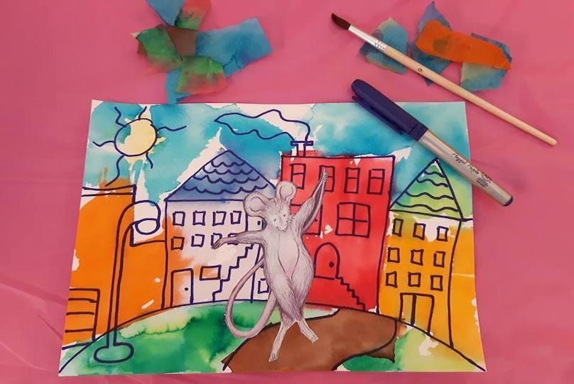 Cyprienne activite bricolage au Musee_regional_Vaudreuil-Soulanges