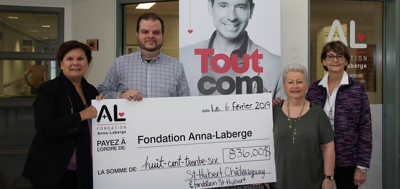 Fondation Anna-Laberge St-Hubert Chateauguay photo via Fondation Anna-Laberge