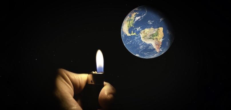 Planete Terre urgence climat visuel Photoshop_Addict via Pixabby CC0 et INFOSuroit_com