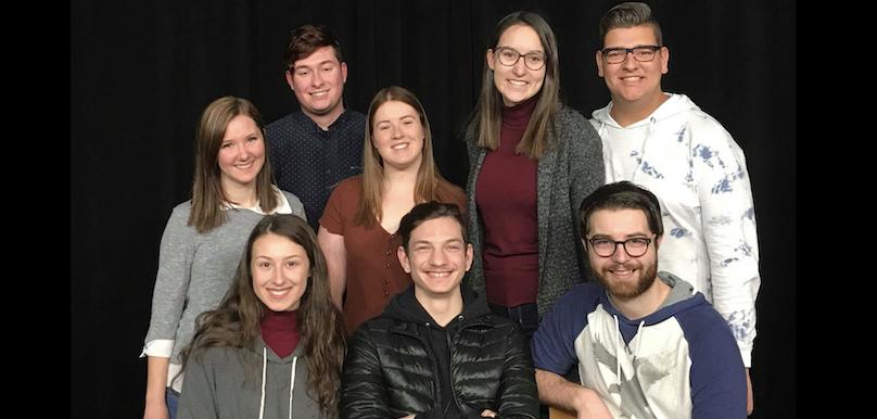 Troupe de theatre 2019 du College de Valleyfield photo courtoisie ColVal