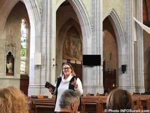 adele guide MUSO basilique cathedrale Ste-Cecile Valleyfield photo INFOSuroit