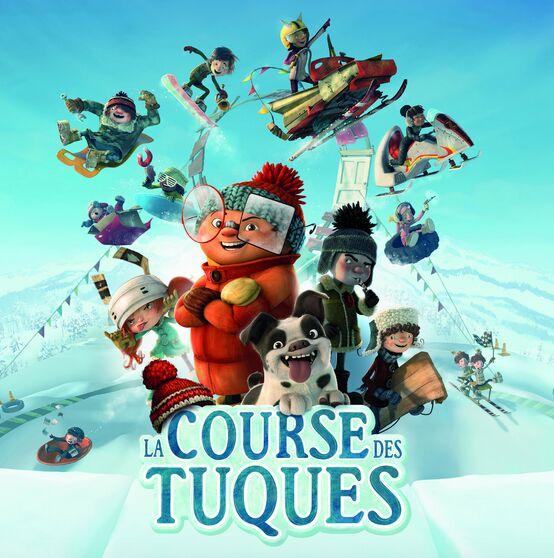 affiche La_course_des_tuques semaine relache Chateauguay visuel via Ville