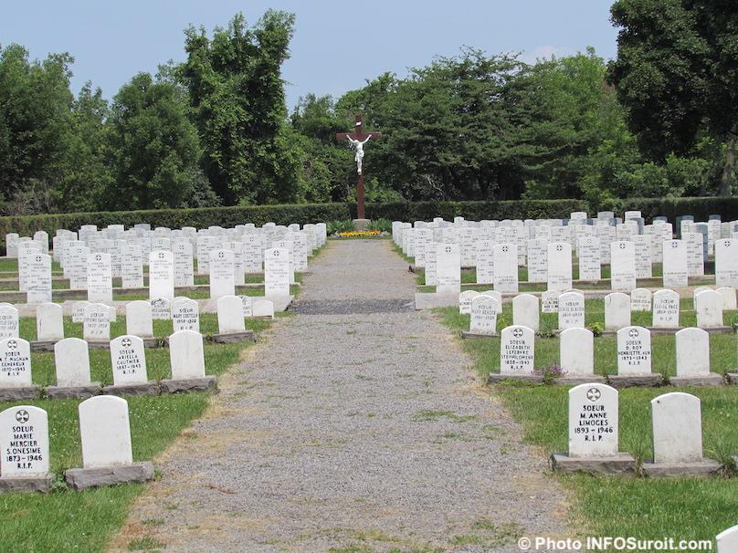cimetiere des Soeurs Grises sur Ile_St-Bernard Chateauguay photo INFOSuroit