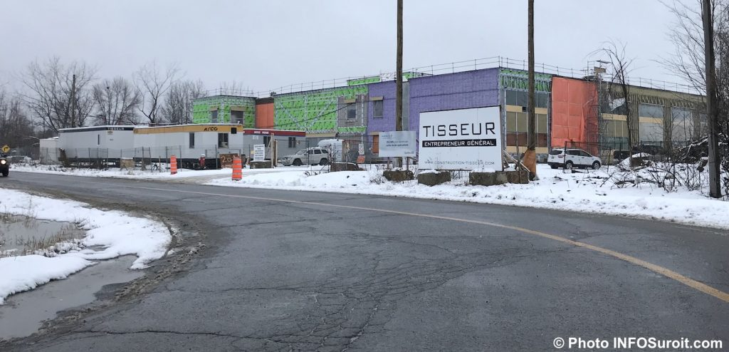 construction nouvelle ecole adaptee a Chateauguay nov2018 photo INFOSuroit