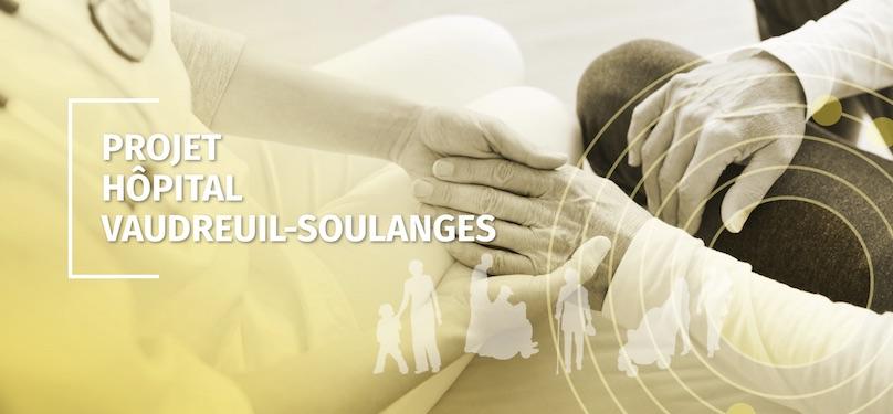 extrait nouveau site Web pour projet Hopital Vaudreuil-Soulanges via CISSSMO