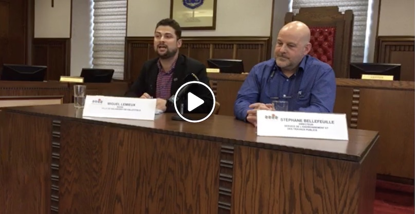 extrait video Facebook Ville Salaberry-de-Valleyfield sur plan de deneigement 12fev2019