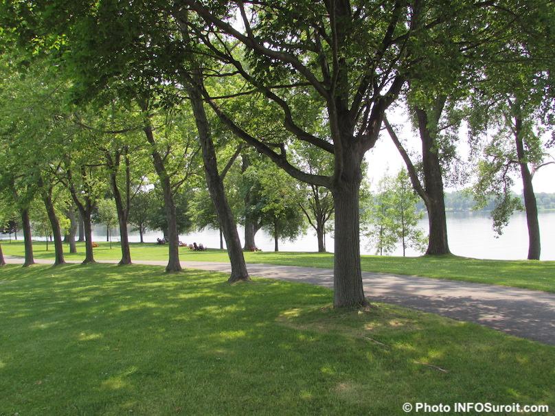 ile Saint-Bernard Chateauguay lac Saint-Louis photo INFOSuroit