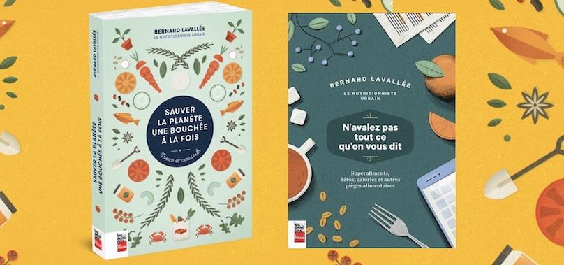 livres de Bernard_Lavallee nutrionniste urbain visuel courtoisie