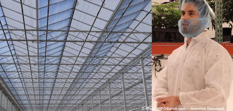 toit serre usine TGOD cannabis Valleyfield et VP Horticulture DBernard-Perron photo JHaineault INFOSuroit