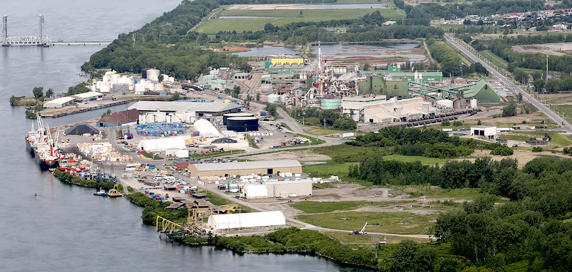 usine CEZinc a Valleyfield vue globale photo courtoisie via CEZinc