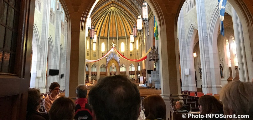 visite basilique cathedrale Ste-Cecile Valleyfield 2018 photo INFOSuroit