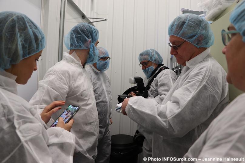 visite usine TGOD 26fev2019 avec medias photo Jeannine_Haineault INFOSuroit