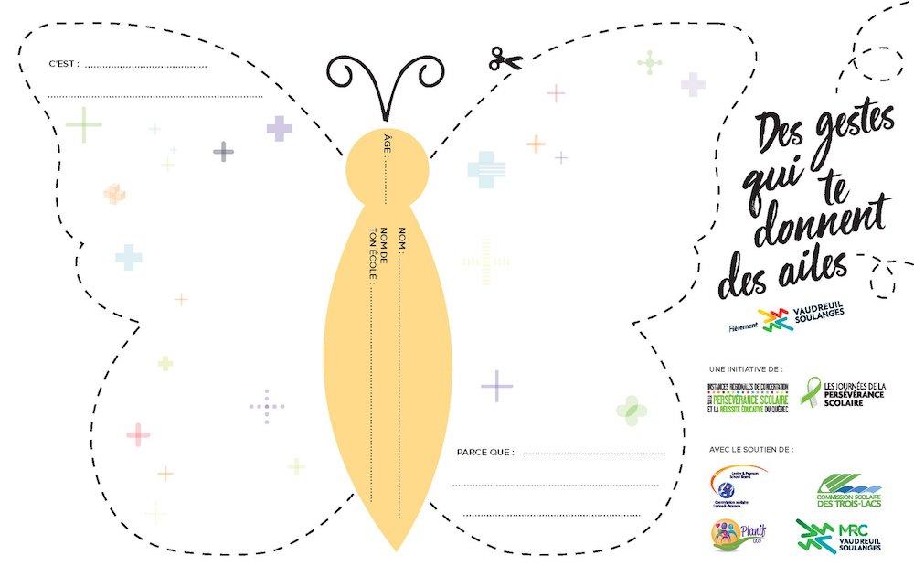 visuel papillon concours perseverance scolaire MRC VS