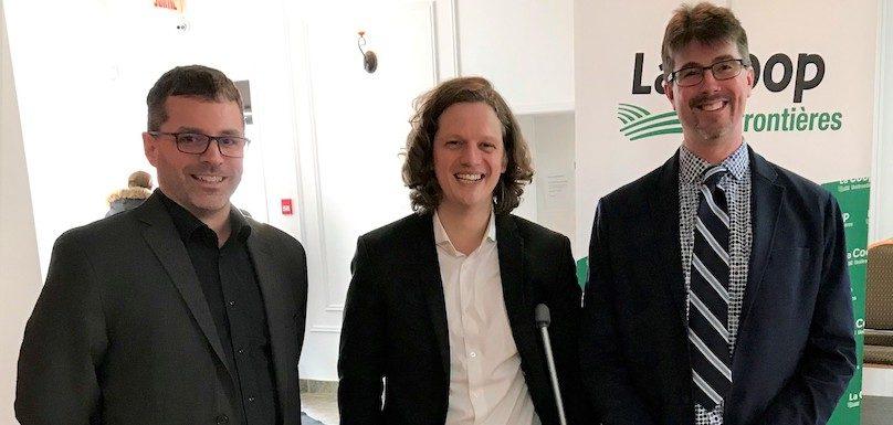 AGA 2019 Coop Unifrontieres dg PYMcSween et president SBrault photo via Coop