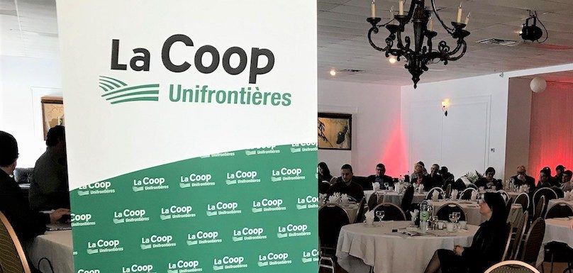 AGA coop Unifrontieres mars2019 a Mercier photo courtoisie