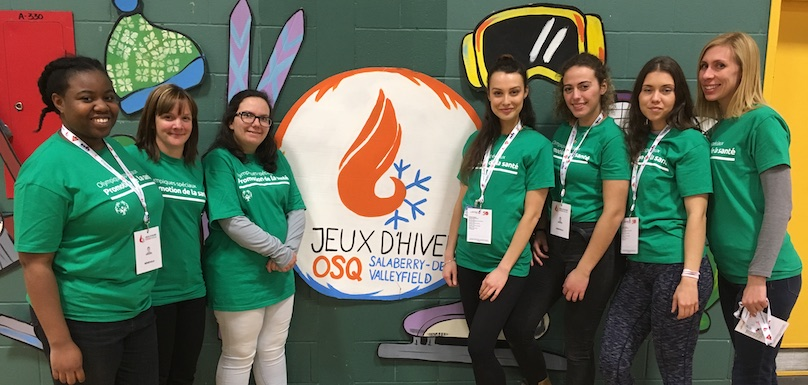 Cegep de Valleyfield Soins infirmiers sensibilisation jeux Olympiques Speciaux Qc mars2019 photo ColVal