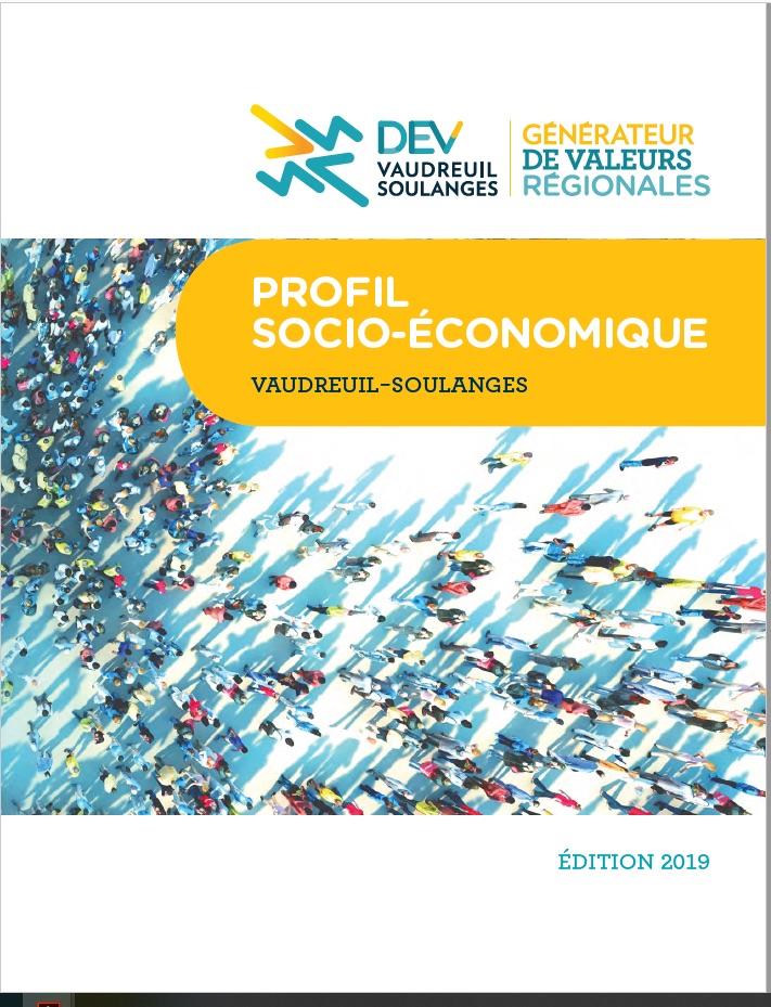Couverture Profil socio-economique 2019 DEV_Vaudreuil-Soulanges