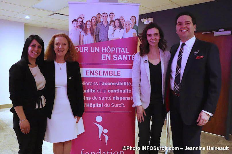 Fondation Hopital du Suroit nouvelle DG avec president conseil photo JH INFOSuroit