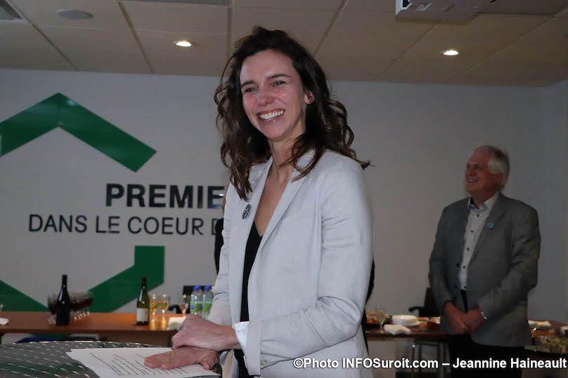 Michele_Cyr-Lemieux Dg Fondation Hopital Suroit 21mars2019 photo JH INFOSuroit