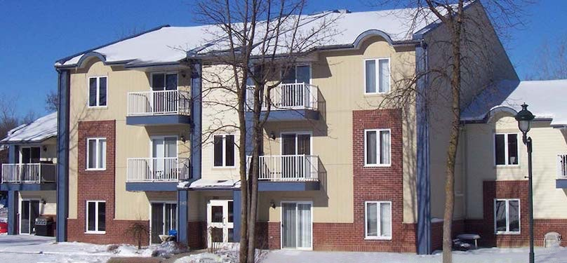 OMH Chateauguay immeubles rue Principale hiver photo courtoisie VC