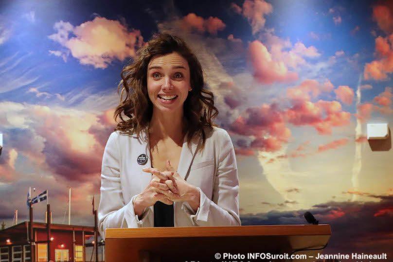annonce nouvelle DG Fondation Hopital Suroit Michele_Cyr-Lemieux photo JH INFOSuroit
