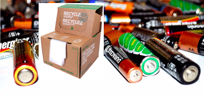 boite Appel a recycler photo via MRC et batteries piles photo PublicDomainPictures via Pixabay