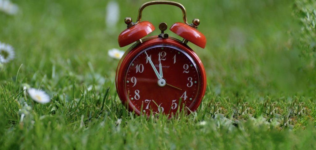 heure_d_ete heure avancee cadran reveil horloge gazon printemps photo Alexas_Fotos via Pixabay CC0 et INFOSuroit