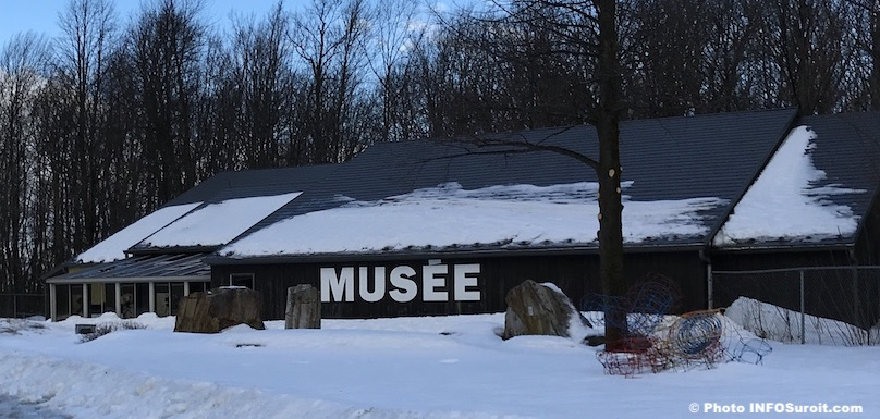 hiver Musee quebecois archeologie Pointe-du-Buisson Melocheville 2019 photo INFOSuroit