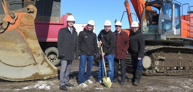 mars 2019 Ali Excavation construction nouvel atelier mecanique Valleyfield photo via SdV