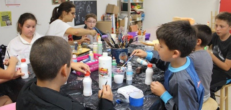 Camp de jour arts plastiques au MUSO musee a Valleyfield photo via MUSO