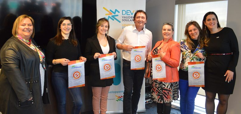 Defi OSEntreprendre 2019 laureats Vaudreuil-Soulanges photo via DEVVS