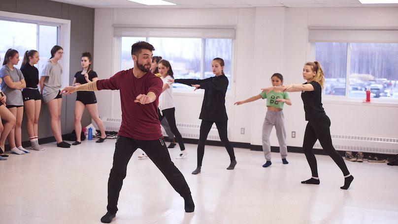 Festival Acces Danse 2019 a Chateauguay classe de maitre photo courtoisie VC