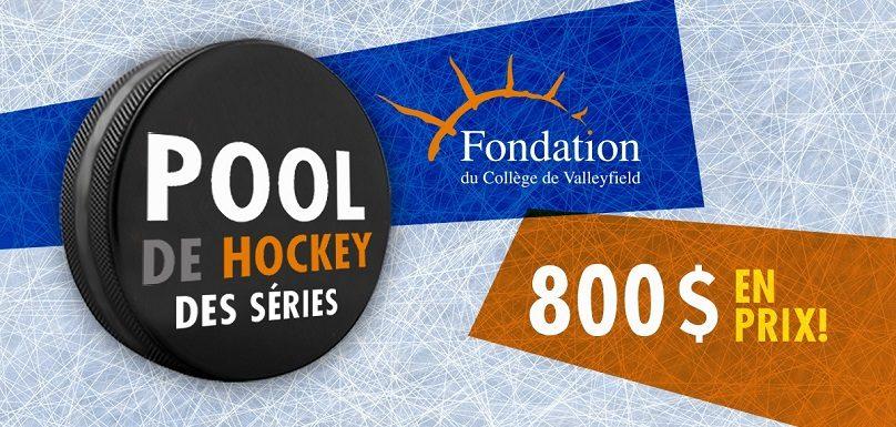 Lancement du pool de hockey 2019 fondation du college de Valleyfield photo via fondation college de valleyfield