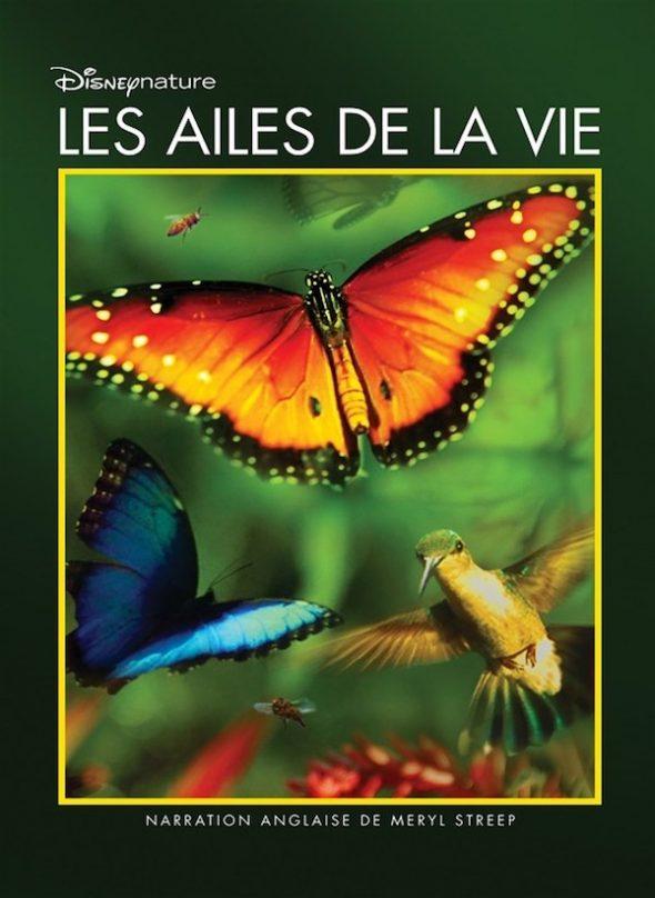 affiche film Les ailes de la vie de Disneynature