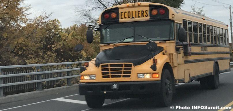 autobus scolaire ecoliers automne 2016 Photo INFOSuroit