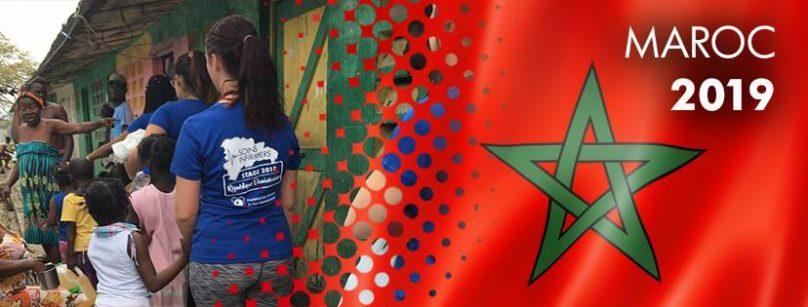banniere Facebook stage 2019 soins infirmiers au Maroc visuel courtoisie College Valleyfield