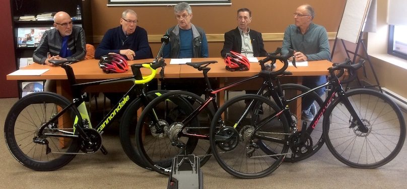 coalition 4 clubs cyclistes 16avril2019 photo courtoisie