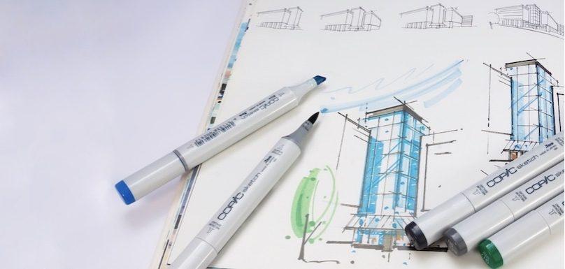 concours architecture batiment dessin photo Stux via Pixabay et INFOSuroit
