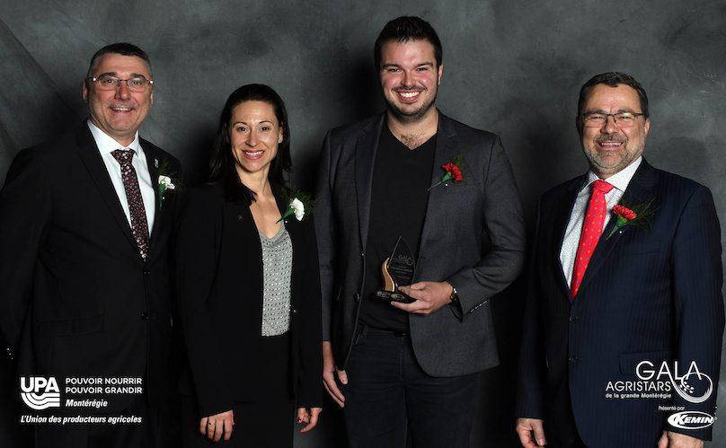 gala Agristars 2019 Prix releve agricole Kevin_Isabelle photo via UPA