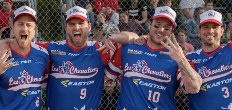 4 Chevaliers Easton seront dans la region le 14 juin balle-molle photo courtoisie