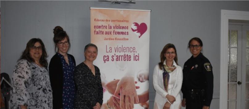 Reseau partenaire contre la violence faite aux femmes Jardins-Roussillon photo Reseau partenaire contre la violence faite aux femmes Jardins-Roussillon