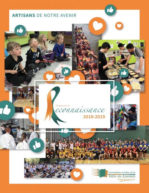 brochure programme reconnaissance 2018-19 de la CSVT couverture